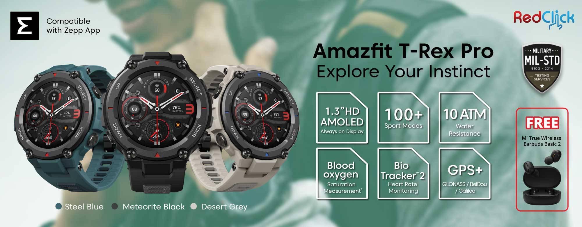 Amazfit T-Rex Pro