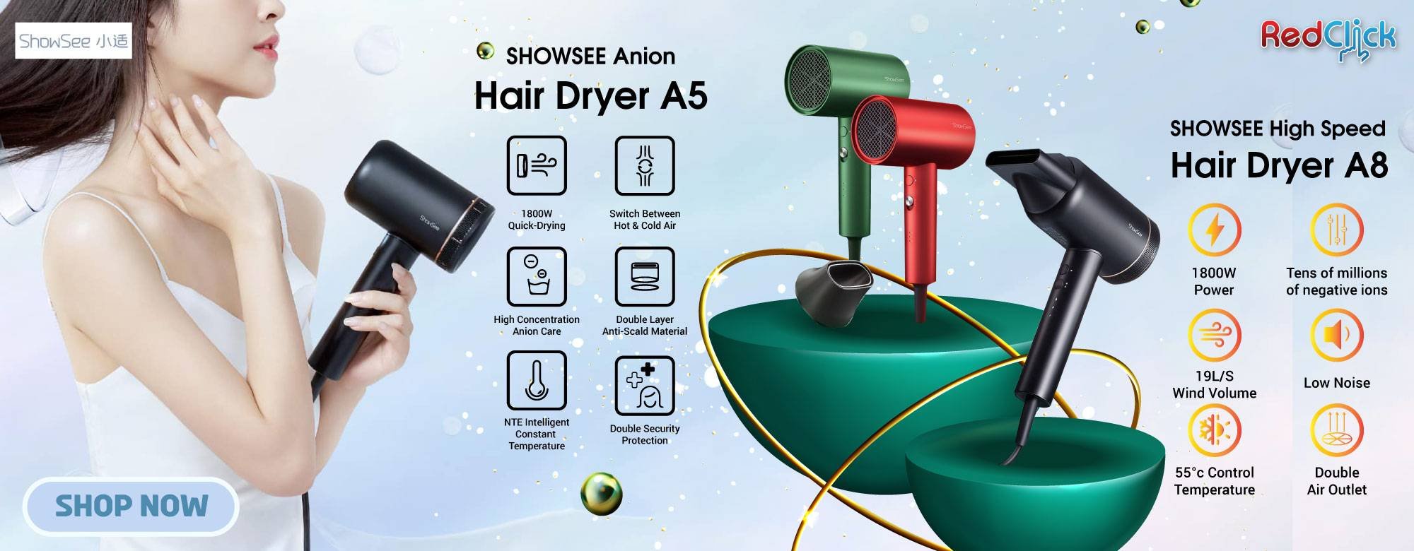 Showsee Hair Dryer