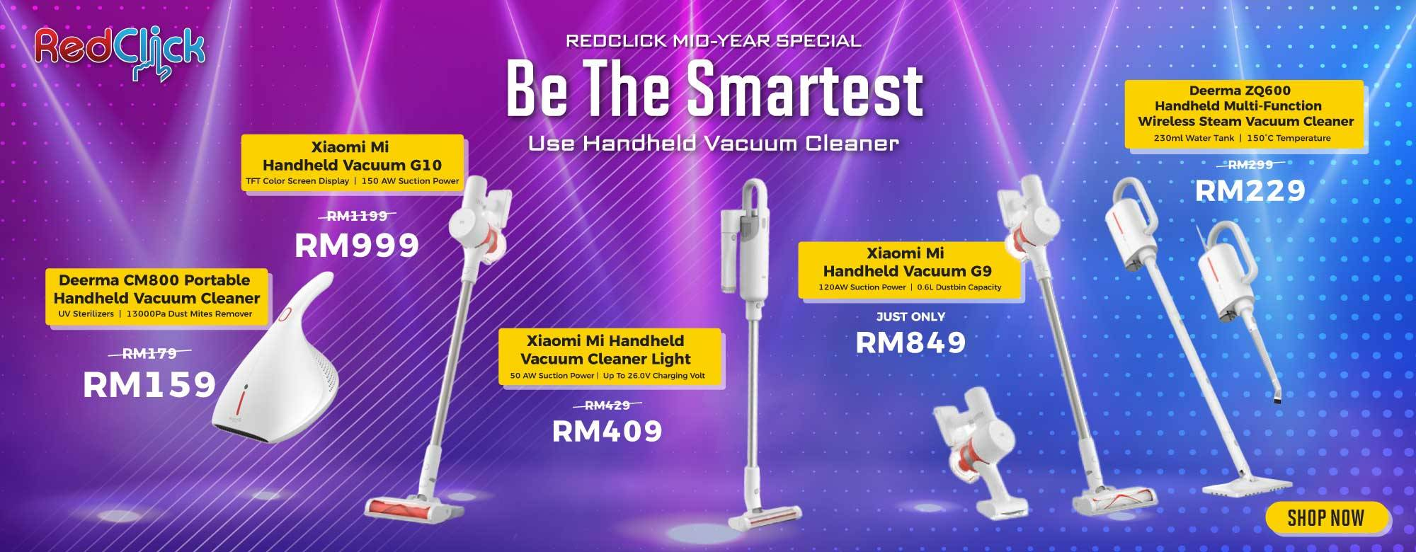 Handheld Vacuum Promotion