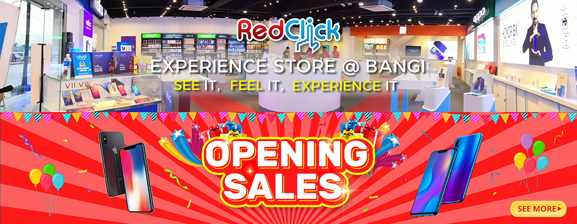 Redclick Experience Store @ Bangi