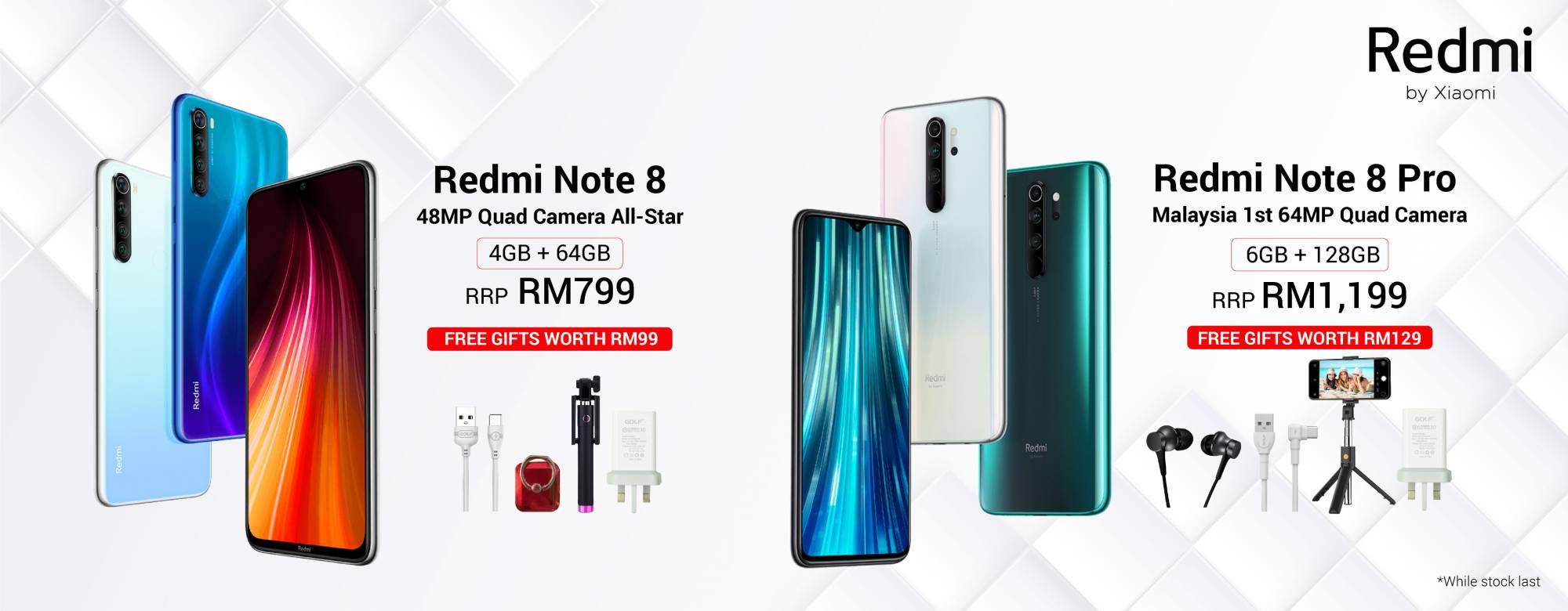 Xiaomi Redmi Note 8 & Note 8 Pro