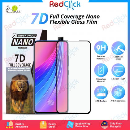 iTOP OPPO V15 Pro 7D Full Coverage Screen Protector Nano Flexible Glass Film - Shock Proof
