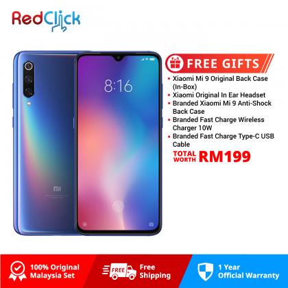 Xiaomi Mi 9 (6GB/64GB) Original Xiaomi Malaysia Set + 5 Free Gift Worth RM149