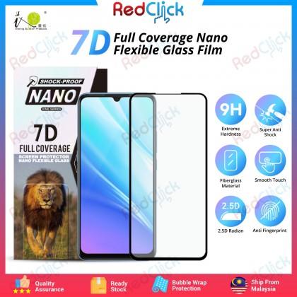 iTOP VIVO S1/ S1 Pro/ V15 7D Full Coverage Screen Protector Nano Flexible Glass Film - Shock Proof