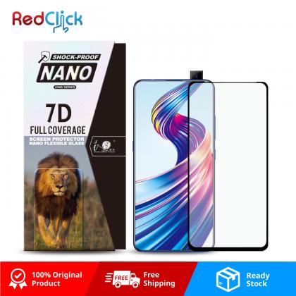 iTOP VIVO S1/ V15 7D Full Coverage Screen Protector Nano Flexible Glass Film - Shock Proof