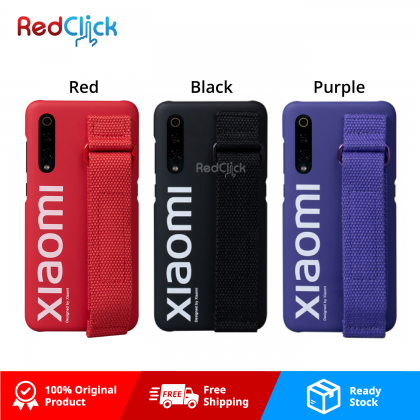 Xiaomi Original Mi 9 Back Case Street Style with Wristband Holder