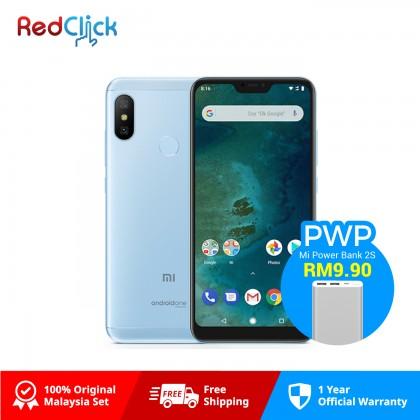 Xiaomi Mi A2 Lite (4GB/64GB) Original Xiaomi Malaysia Set