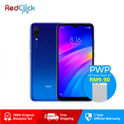 Xiaomi Redmi 7 (2GB/16GB) Original Xiaomi Malaysia Set