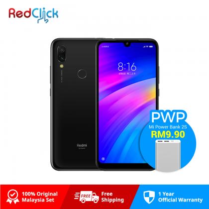 Xiaomi Redmi 7 (3GB/32GB) Original Xiaomi Malaysia Set