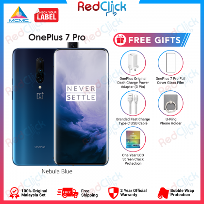 OnePlus 7 Pro (8GB/256GB) Original Oneplus Malaysia Set + 4 Free Gift Worth RM399