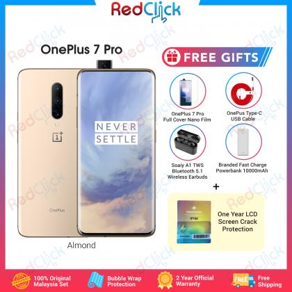 OnePlus 7 Pro (8GB/256GB) Original Oneplus Malaysia Set + 5 Free Gift Worth RM249