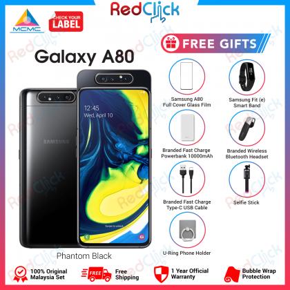 Samsung Galaxy A80 (8GB/128GB) Original Samsung Malaysia Set + 7 Free Gift Worth RM399