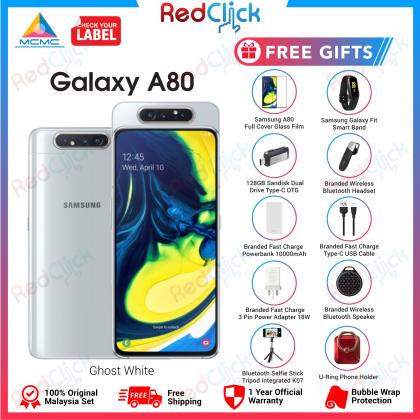 Samsung Galaxy A80 (8GB/128GB) Original Samsung Malaysia Set + 10 Free Gift Worth RM499