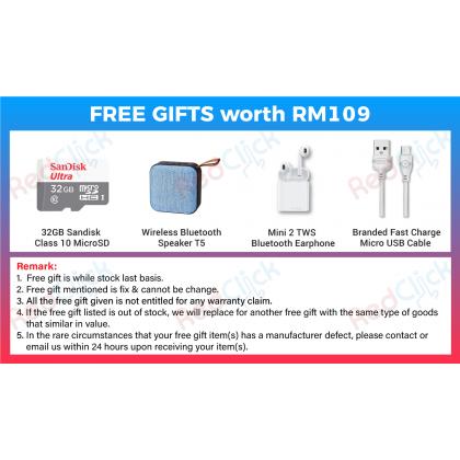 Samsung Galaxy Tab A 8.0 LTE /T295 (2GB/32GB) Original Samsung Malaysia Set + 4 Free Gift Worth RM109