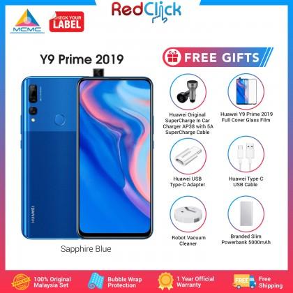 Huawei Y9 Prime 2019 (4GB/128GB) Original Huawei Malaysia Set + 6 Free Gift Worth RM239