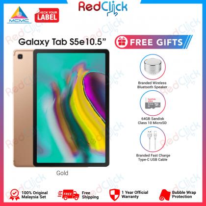 "Samsung Galaxy Tab S5e 10.5"" /t725 (4GB/64GB) Original Samsung Malaysia Set + 3 Free Gift Worth RM199"