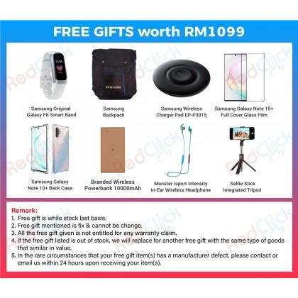 Samsung Galaxy Note 10 Plus (12GB/256GB/512GB) Original Samsung Malaysia Set + 8 Free Gift Worth RM1099
