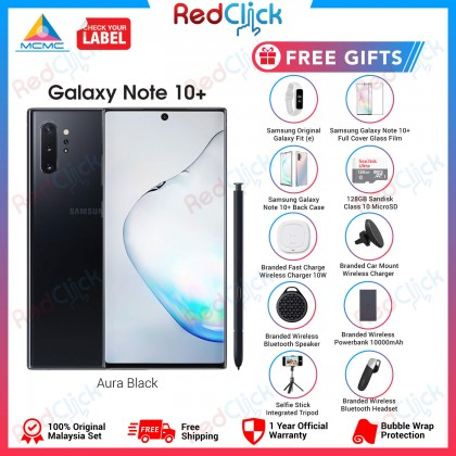 Samsung Galaxy Note 10 Plus (12GB/256GB/512GB) Original Samsung Malaysia Set + 10 Free Gift Worth RM899