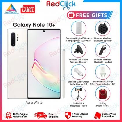 Samsung Galaxy Note 10 Plus (12GB/256GB/512GB) Original Samsung Malaysia Set + 8 Free Gift Worth RM899