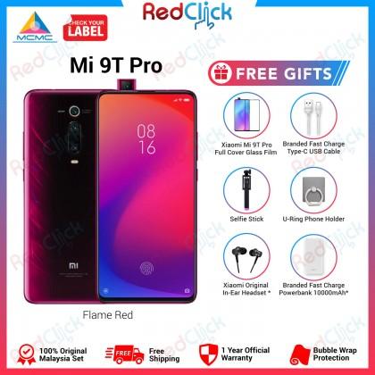 Xiaomi Mi 9T Pro (6GB/64GB/128GB) Original Xiaomi Malaysia Set + 6 Free Gift Worth RM199