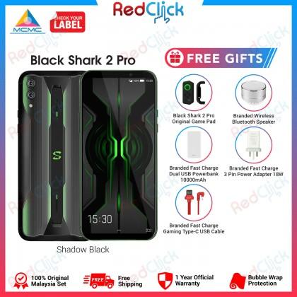Xiaomi Black Shark 2 Pro (8GB/128GB) Original Xiaomi Malaysia Set + 5 Free Gift Worth RM399