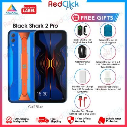 Xiaomi Black Shark 2 Pro (8GB/12GB/128GB/256GB) Original Xiaomi Malaysia Set + 7 Free Gift Worth RM549