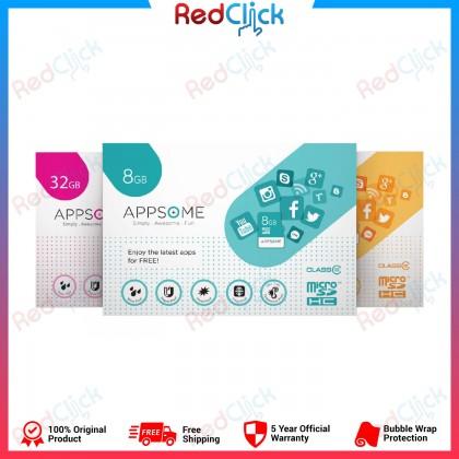 Appsome 8GB / 32GB / 64GB Class 10 MicroSDHC Memory Card