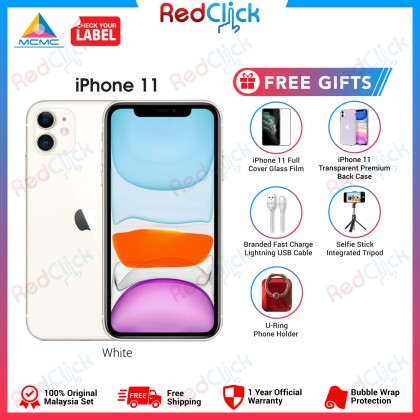 Apple iPhone 11 (64GB/128GB/256GB) Original Apple Malaysia Set + 5 Free Gift Worth RM349