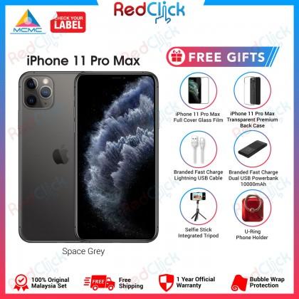 Apple iPhone 11 Pro Max (64GB/256GB/512GB) Original Apple Malaysia Set + 6 Free Gift Worth RM399