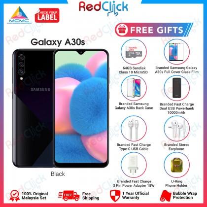 Samsung Galaxy A30s (4GB/64GB) Original Samsung Malaysia Set + 8 Free Gift Worth RM299