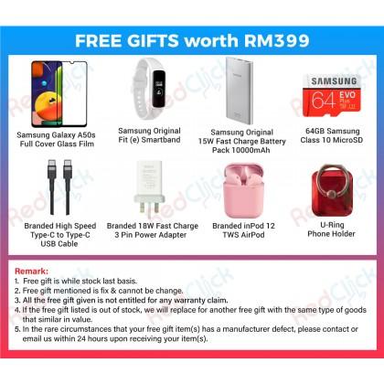 Samsung Galaxy A50s (6GB/128GB) Original Samsung Malaysia Set + 8 Free Gift Worth RM399