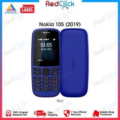 Nokia 105 (2019) (Dual Sim) Original Nokia Malaysia Set