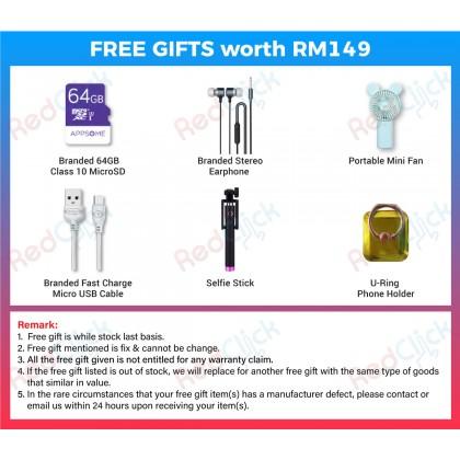 OPPO A5 2020 (3GB/64GB)(4GB/128GB) Original OPPO Malaysia Set + 6 Free Gift Worth RM 149