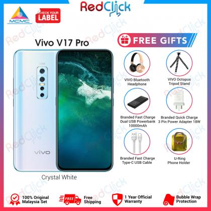 VIVO V17 Pro (8GB/128GB) Original VIVO Malaysia Set + 6 Free Gift Worth RM 449