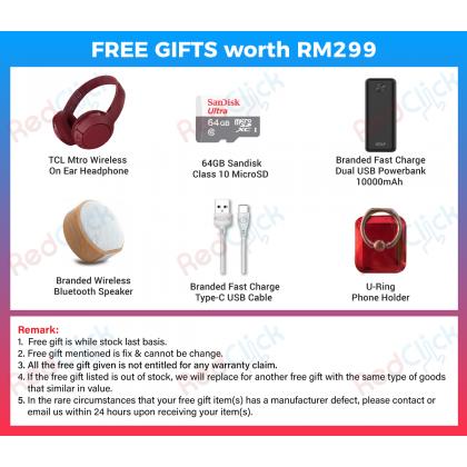 TCL Plex (6GB/128GB) Original TCL Malaysia Set + 6 Free Gift Worth RM 299