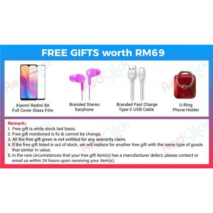 Xiaomi Redmi 8A (2GB/32GB) Original Xiaomi Malaysia Set + 4 Free Gift Worth RM 69