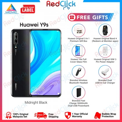 Huawei Y9s (6GB/128GB) Original Huawei Malaysia Set + 6 Free Gift Worth RM 499