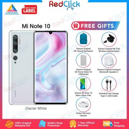 Xiaomi Mi Note 10 (6GB/128GB) Original Xiaomi Malaysia Set + 7 Free Gift Worth RM 259