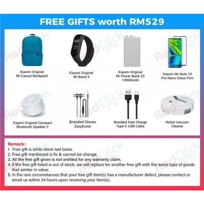 Xiaomi Mi Note 10 Pro (8GB/256GB) Original Xiaomi Malaysia Set + 8 Free Gift Worth RM 529