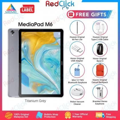 "Huawei Mediapad M6 10.8"" / SCM-AL09 (4GB/128GB) Original Huawei Malaysia Set + 8 Free Gift Worth RM599"