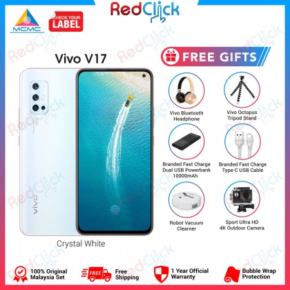 VIVO V17 (8GB/256GB) Original VIVO Malaysia Set + 6 Free Gift Worth RM299