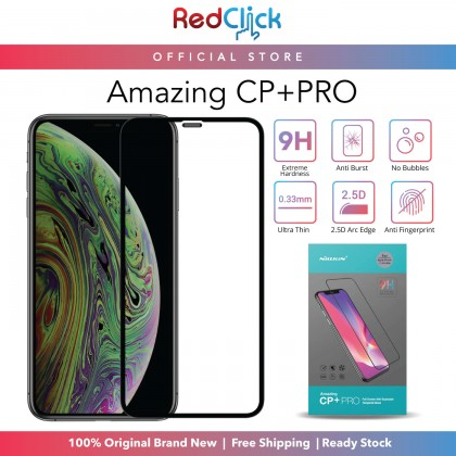 Nillkin Apple iPhone 11/11 Pro/11 Pro Max /XR/XS/XS Max /12 mini/12/12 Pro/12 Pro Max CP+ Pro 9H Full Coverage Screen Tempered Glass -  Anti-Explosion