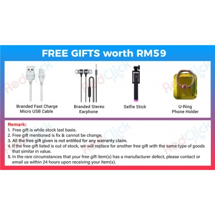 Honor 8S (2GB/32GB) Original Honor Malaysia Set + 4 Free Gift Worth RM59