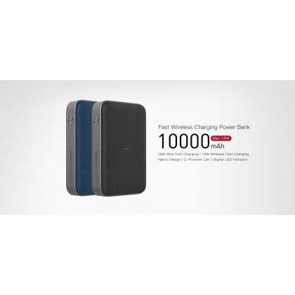 ORSEN Original Eloop EW35 10000mAh 18W Wireless Charging Digital LED Power Indicator Powerbank