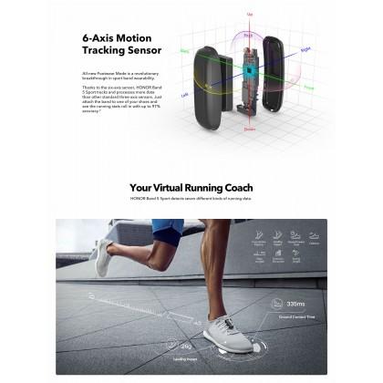 Honor Original Band 5 Sport 6-Axis Motion Tracking Sensor