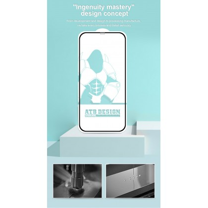 Atouchbo iPhone 11 /iPhone 11 Pro /iPhone 11 Pro Max Anti Glare Full Cover Matte Surface Tempered Glass