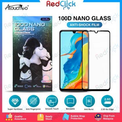 Atouchbo Huawei Y7p/ Nova 7i/ Nova 4e /P40 100D Elegant Arc Edge Nano Anti-Shock Glass Film