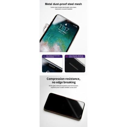 Atouchbo iPhone 13 /13 Pro /13 Pro Max /12 Mini /12 /12 Pro /12 Pro Max /11 /11 Pro /11 Pro Max 120D Bigger Edge Anti Dust Tempered Glass