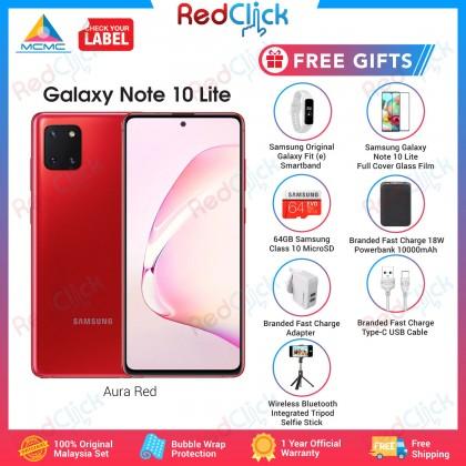 Samsung Galaxy Note 10 Lite (8GB/128GB) Original Samsung Malaysia Set + 7 Free Gift RM 269