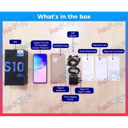 Samsung Galaxy S10 Lite (8GB/128GB) Original Samsung Malaysia Set + 6 Free Gift Worth RM 399